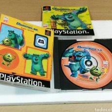 Videojuegos y Consolas: VIDEOJUEGO COMPLETO MONSTRUOS S.A. ISLA DE LOS SUSTOS PS 1. Lote 98396610