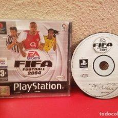 Videojuegos y Consolas: JUEGO PLAYSTATION 1 PS1 PSX FIFA FOOTBALL 2004 FUTBOL VIDEOJUEGO CONSOLA. Lote 98404179
