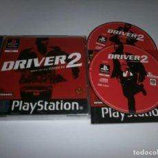 Videojuegos y Consolas: DRIVER 2 PLAYSTATION PAL ESPAÑA COMPLETO . Lote 98506587