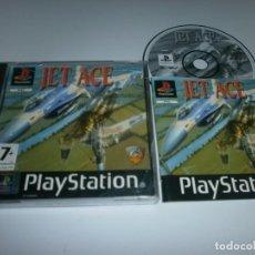 Videojuegos y Consolas: JET ACE PLAYSTATION PAL ESPAÑA COMPLETO . Lote 98507307