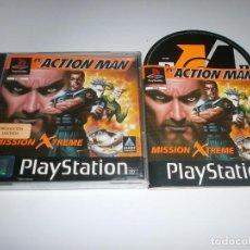 Videojuegos y Consolas: ACTION MAN PLAYSTATION PAL ESPAÑA COMPLETO . Lote 98507379