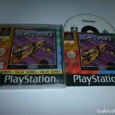 Videojuegos y Consolas: SANVEIN PLAYSTATION PAL ESPAÑA COMPLETO . Lote 98507479