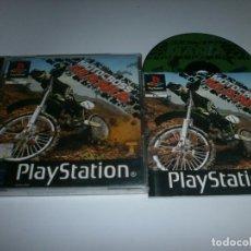 Videojuegos y Consolas: MOTOCROSS MANIA PLAYSTATION PAL ESPAÑA COMPLETO . Lote 98507579