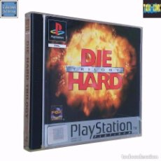 Videojuegos y Consolas: DIE HARD TRILOGY / JUEGO PLAYSTATION PLAY STATION PSONE / PAL / FOX ELECTRONIC ARTS 1996. Lote 98724639