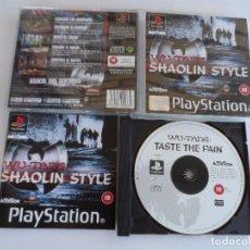 Videojogos e Consolas: PS1 WU-TANG SHAOLIN STYLE PAL ESP COMPLETO. Lote 98945987