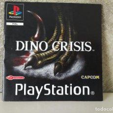 Videojuegos y Consolas: INSTRUCCIONES DINO CRISIS PS1 PSX. Lote 99833607