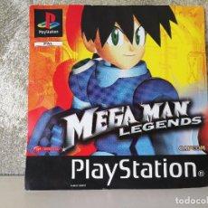 Videojuegos y Consolas: CARÁTULA ORIGINAL MEGA MAN LEGENDS PS1 PSX. Lote 99834619