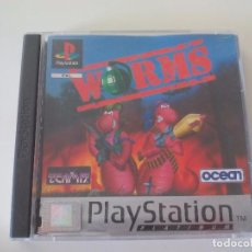 Videojuegos y Consolas: WORMS JUEGO PARA LA CONSOLA PLAYSTATION, PLAY STATION. PS1. PAL. Lote 100338119