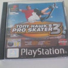 Videojuegos y Consolas: TONY HAWK'S PRO SKATER 3 JUEGO PARA LA CONSOLA PLAYSTATION, PLAY STATION. PS1. PAL. Lote 100338399