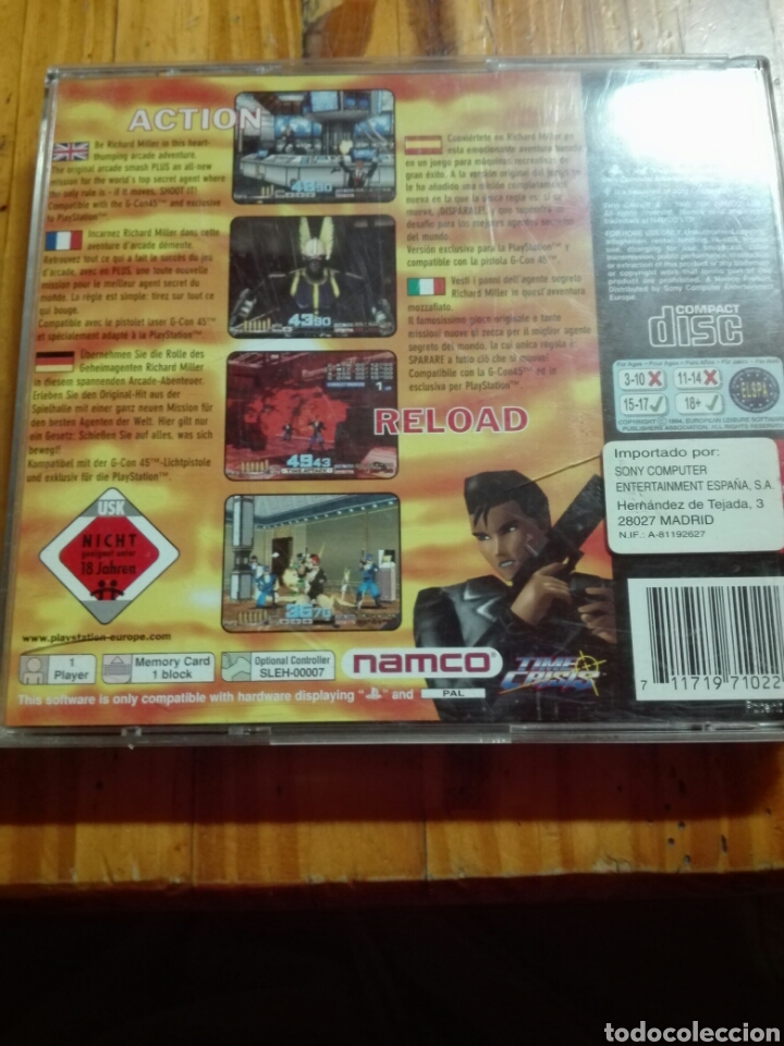 Videojuegos y Consolas: Time crisis + demo point blank - Foto 3 - 100453930