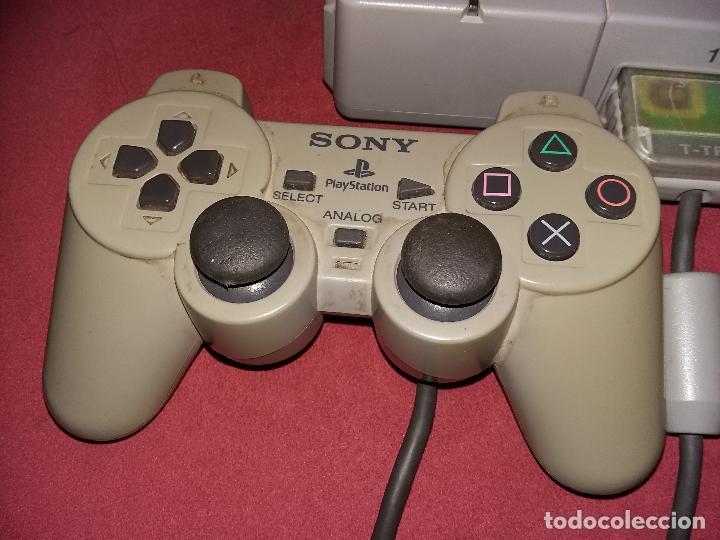 Videojuegos y Consolas: PS10001 - sony ps1 funcionando + mando + memoricard, sin cable de tv - Foto 3 - 101027731