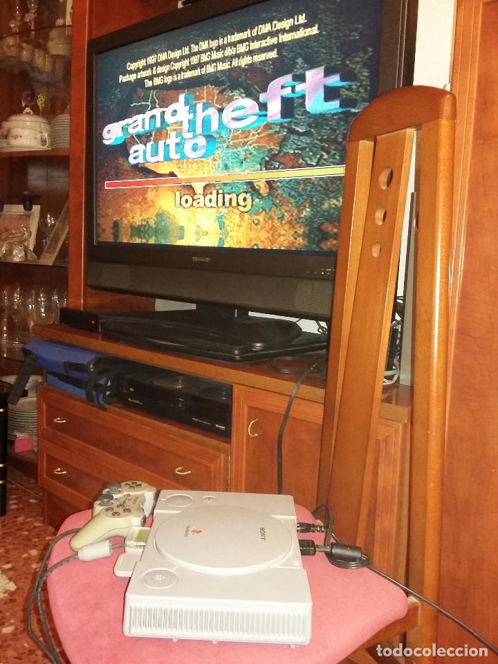 Videojuegos y Consolas: PS10001 - sony ps1 funcionando + mando + memoricard, sin cable de tv - Foto 4 - 101027731