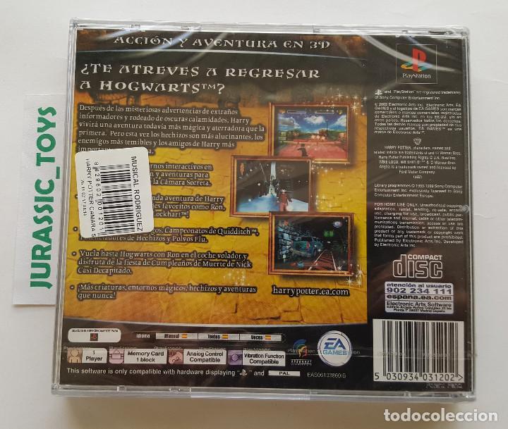 Videojuegos y Consolas: PS1 PLAYSTATION: JUEGO HARRY POTTER Y LA CÁMARA SECRETA / NUEVO Y PRECINTADO - NEW SEALED - Foto 2 - 203565335