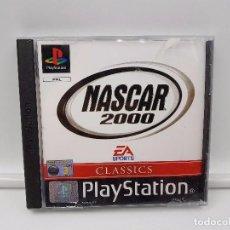 Videojuegos y Consolas: JUEGO COMPLETO NASCAR 2000 PAL UK ENGLISH SONY PLAYSTATION PS1 PSX. Lote 101617431
