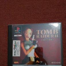 Videojuegos y Consolas: TOMB RAIDER II PLAYSTATION 1 PLATINUM COMPLETO. Lote 101713154