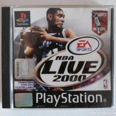 Videojuegos y Consolas: NBA LIVE 2000 (EA SPORTS) - SONY PLAYSTATION 1 - PS1 - SIN MANUAL - VER FOTOS. Lote 102066527