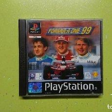 Videojuegos y Consolas: JUEGO PARA PS1 FÓRMULA ONE 99. Lote 102390011