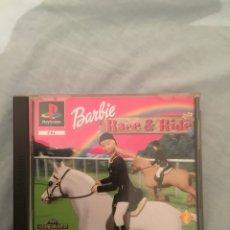 Videojuegos y Consolas: JUEGO DE PLAYSTATION 1 BARBIE RACE&RIDE. Lote 102688280
