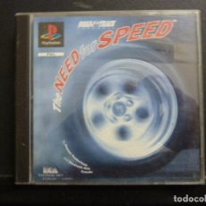 Videojuegos y Consolas: JUEGO - SONY PLAYSTATION - PS1 - THE NEED FOR SPEED. Lote 102740743