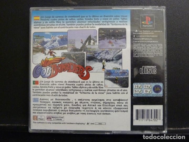 Videojuegos y Consolas: JUEGO - SONY PLAYSTATION - PS1 - COOLBOARDERS - Foto 2 - 102764407