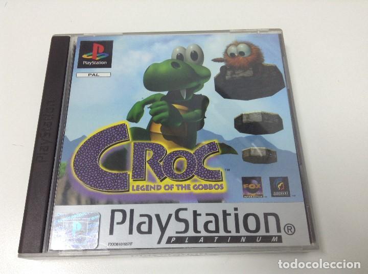 CROC LEGEND OF THE GOBBOS (Juguetes - Videojuegos y Consolas - Sony - PS1)