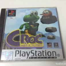 Videojuegos y Consolas: CROC LEGEND OF THE GOBBOS. Lote 164624970