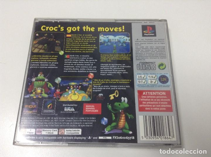 Videojuegos y Consolas: CROC LEGEND OF THE GOBBOS - Foto 2 - 164624970