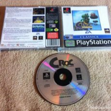 Videojuegos y Consolas: CROC LEGEND OF THE GOBBOS PSX SONY PLAYSTATION 1 PLAY STATION ONE KREATEN. Lote 103339779