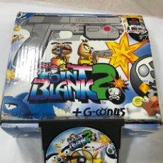 Videojuegos y Consolas: JUEGO POINT BLANK 2 + G-CON45 CON CAJA PARA PS PAL ESPAÑA, CONTIENE 2 PISTOLAS COMPLETAS NAMCO 1996. Lote 103630475