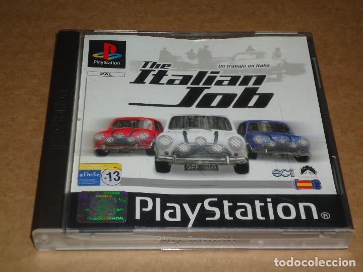 JUEGO PS1 PLAYSTATION, THE ITALIAN JOB, UN TRABAJO EN ITALIA, BUEN ESTADO.. ENVIO GRATIS. (Juguetes - Videojuegos y Consolas - Sony - PS1)