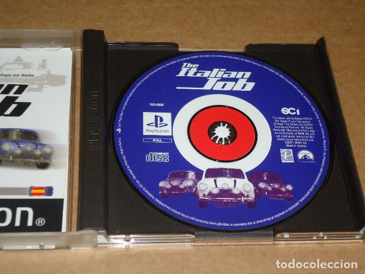Videojuegos y Consolas: JUEGO PS1 PLAYSTATION, THE ITALIAN JOB, UN TRABAJO EN ITALIA, BUEN ESTADO.. ENVIO GRATIS. - Foto 2 - 103689795