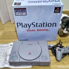 Videojuegos y Consolas: CONSOLA SONY PLAYSTATION PS1 PSX EN CAJA. Lote 103808111