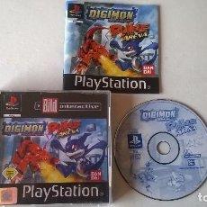 Videojuegos y Consolas: DIGIMON RUMBLE ARENA PARA PS1 PS2 Y PS3 COMPLETO!!!!. Lote 103847735