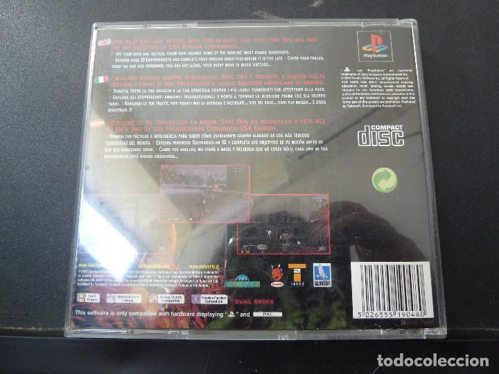 Videojuegos y Consolas: JUEGO - SONY PLAYSTATION - PS1 - SPECOPS - Foto 9 - 104474347