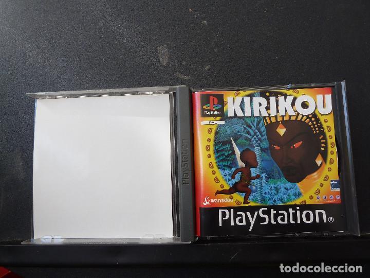Videojuegos y Consolas: JUEGO - SONY PLAYSTATION - PS1 - KIRIKOU - Foto 2 - 104474719