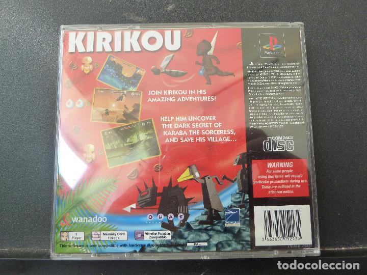 Videojuegos y Consolas: JUEGO - SONY PLAYSTATION - PS1 - KIRIKOU - Foto 4 - 104474719