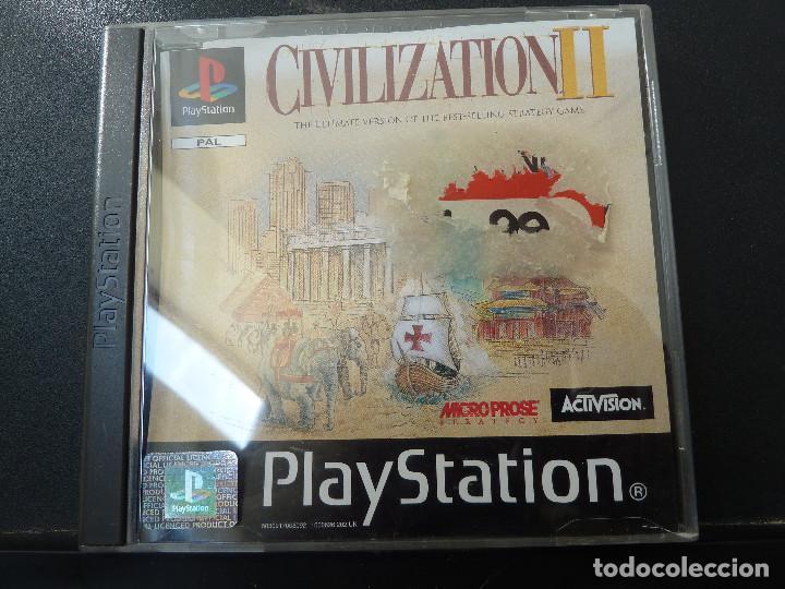 JUEGO - SONY PLAYSTATION - PS1 - CIVILIZATION II (Juguetes - Videojuegos y Consolas - Sony - PS1)