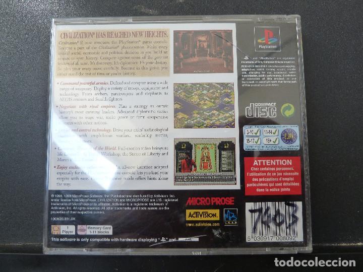 Videojuegos y Consolas: JUEGO - SONY PLAYSTATION - PS1 - CIVILIZATION II - Foto 3 - 104476583