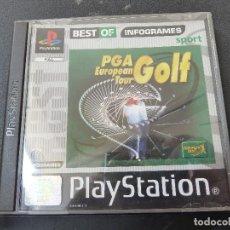 Videojuegos y Consolas: JUEGO - SONY PLAYSTATION - PS1 - PGA EUROPEAN TOUR GOLF. Lote 105627199