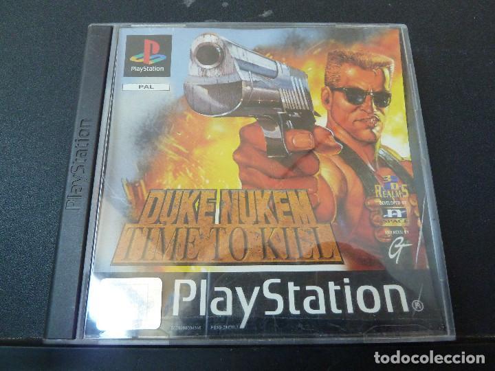 JUEGO - SONY PLAYSTATION - PS1 - DUKE NUKEM TIME TO KILL (Juguetes - Videojuegos y Consolas - Sony - PS1)
