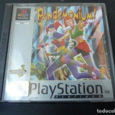 Videojuegos y Consolas: JUEGO - SONY PLAYSTATION - PS1 - PANDEMONIUM. Lote 105686831