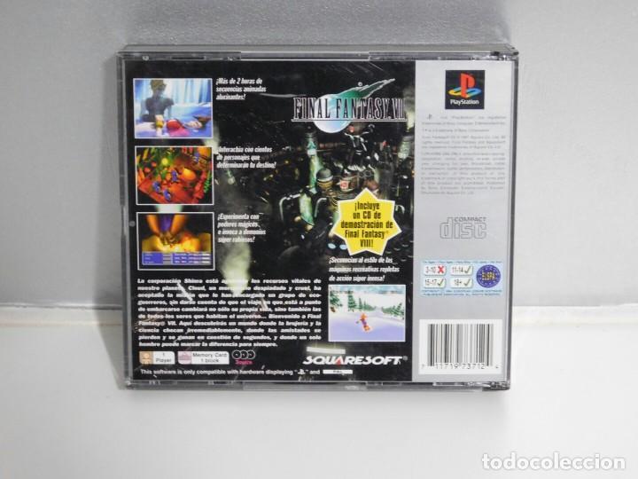 Videojuegos y Consolas: FINAL FANTASY VII PLATINUM PLAYSTATION 1 - Foto 2 - 106954555