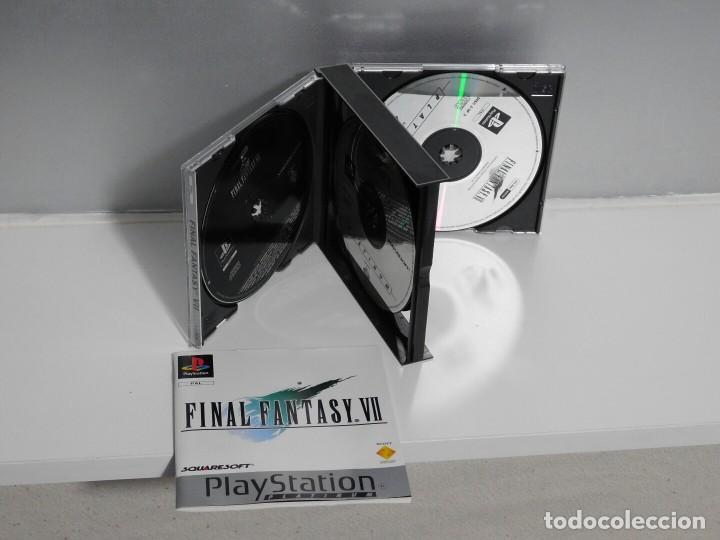 Videojuegos y Consolas: FINAL FANTASY VII PLATINUM PLAYSTATION 1 - Foto 3 - 106954555