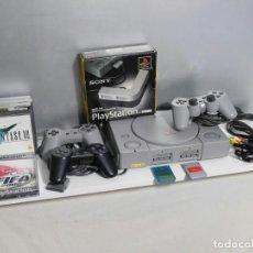 Videojuegos y Consolas: PLAYSTATION 1 COMPLETA + JUEGOS PS1. Lote 106998111