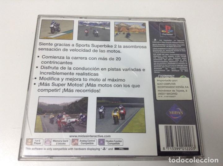 Videojuegos y Consolas: SPORTS SUPERBIKE 2 - Foto 3 - 108301667
