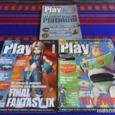 Videojuegos y Consolas: PLAY MANÍA NºS 13 CON SUPLEMENTO Y 25. REGALO SUPLEMENTO Nº 14. FEBRERO 2000. PLAYSTATION.. Lote 108435035