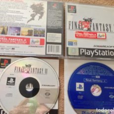 Videojuegos y Consolas: FINAL FANTASY VI 6 + DEMO FF X PS2 PLAYSTATION 1 PLAY STATION ONE PSX PS1 KREATEN. Lote 108467999