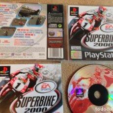 Videojuegos y Consolas: SUPERBIKE 2000 SUPER BIKE EA SPORTS DOBLADO AL CASTELLANO PSX PS1 PLAYSTATION 1 KREATEN. Lote 108544111