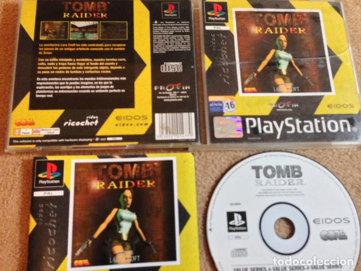 Tomb Raider 1 Psx Ps1 Playstation 1 Play Statio Sold Through