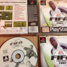 Videojuegos y Consolas: FIFA FOOTBALL 2002 PSX PS1 PLAYSTATION 1 PLAY STATION ONE KREATEN. Lote 108648875